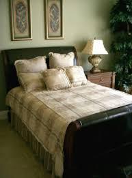 grünes schlafzimmer natürlich schön