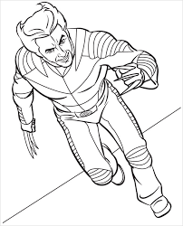 Superhero Woverine Coloring Pages