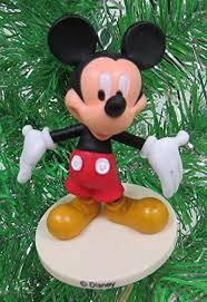 Plutos Christmas Tree Ornament by Disney Mickey Mouse 6 Piece Ornament Set Featuring Mickey Mouse