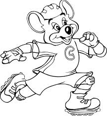 Chuck E Cheese Coloring Book coloring for kids