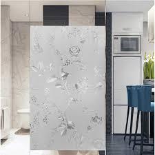 fenster glas aufkleber elektro milchglas badezimmer küche balkon wärmedämmung transparent opaque