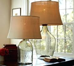 Fillable Table Lamp Base by Table Lamp Table Lamp With Fillable Glass Base Shade Cased