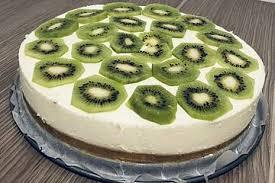 frischkäse kiwi torte ohne backen