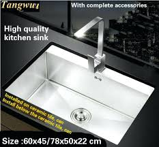 Best Quality Kitchen Sink Material by High End Designer Kitchen Sinks In Years Trend Innovative
