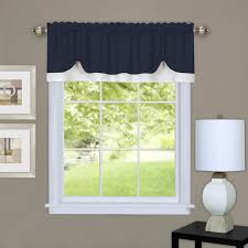 Kohls Triple Curtain Rods by Shop Amazon Com Window Valances