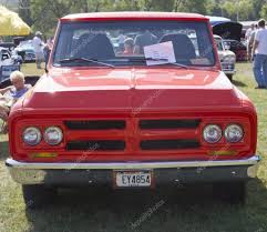 100 1972 Gmc Truck Red GMC Front View Stock Editorial Photo Mybaitshop