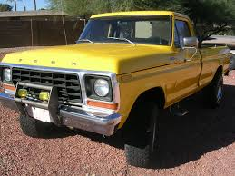 Ford F250 4x4 460 Rebuilt Runs Great - Classic Ford F-250 1978 For Sale