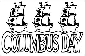 Christopher Columbus Coloring Pages Day Page Disney