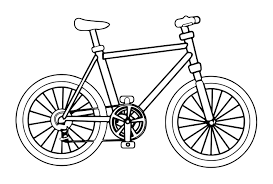 Bicycle Coloring Pages And Bike