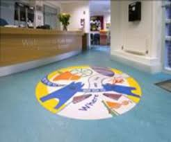 Forbos Marmoleum Floor Covering Employed In London Primary School