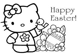 Easter Coloring Pages Kids Bunny Hunting