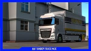 ETS2 | BDF Tandem Truck Pack | 1.32 Beta + Download Link (Reuploaded ...