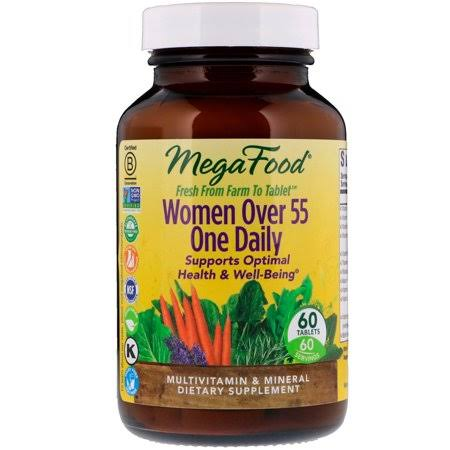 MegaFood - Women Over 55 One Daily - 60 Tablets