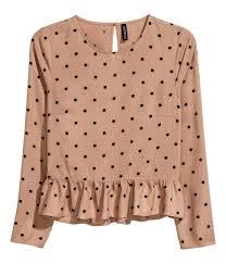 polka dot blouse h u0026m pastels pretty pastels pinterest