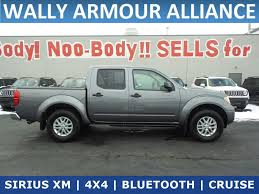 100 Used Nissan Frontier Trucks For Sale PreOwned 2017 SV V6 Crew Cab Pickup In Alliance