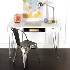 Walker Edison 3 Piece Contemporary Desk by Walker Edison Furniture Company Grey Desk With Storage Hd48ca1gr