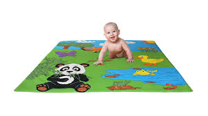 Skip Hop Foam Tiles Formamide by Panda Mat Large Soft Tummy Time Mat For Babies Learning To Crawl