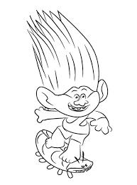 Coloriage Trolls À Imprimer Fantastique Meilleur De Coloriage Minnie