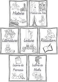 Rentrée Pages De Garde Pour Cahiers Portevues Et Classeurs