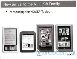 Leaked Barnes & Noble Nook Tablet release date pricing and full
