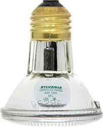 sylvania 14502 50 watt par20 narrow flood light bulb 30 degree