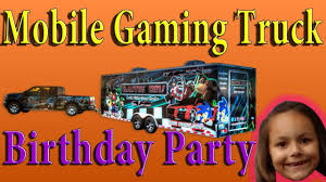 Mobile Gaming Truck Birthday Party - YouTube Buy A Game Truck Pre Owned Mobile Theaters Used Print Media And Downloads Video Game Truck Business Custom Quality Attention To Detail Dont Build Mobile Gametruck Los Angeles Games Lasertag Party Trucks 3d Gaming Parties From Ohio Just Got Better Our Amazing Video Is 24 Foot Climatecontrolled Mr Room Columbus Laser Rolling Of Tampa Bus Pinellas Aloha Hawaii Tag Birthday In Massachusetts