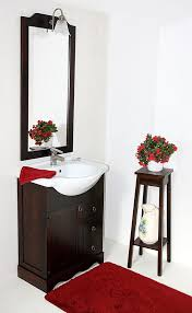 badmöbel set 4teilig 65cm braun kolonialfarben italienische badezimmermöbel vollholz massiv