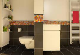 badplanung schmales badezimmer mit mosaik my lovely bath