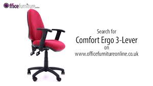 comfort ergo 3 lever operator chair assembly guide youtube