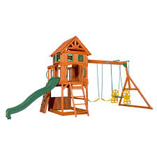 Atlantis Wooden Swing Set - Playsets | Backyard Discovery Backyard Adventures Wooden Playsets Gym Sets American Sale Swing Give The Kids A Playset This Holiday Sears Swingsets And Nashville Tn Grand Sierra Natural Green Grass With Pea Gravel Garden For 131 Best Images On Pinterest Swings Interesting Design And Plus Gorilla Wilderness Do It Yourself Thunder Ridge Set Shop Discovery Shenandoah Residential Wood With Review Adventure Play Atlantis Dallas Catalina Playground Outdoor