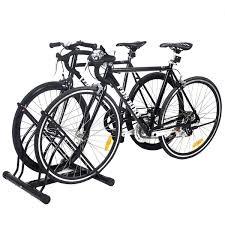 Racor Ceiling Mount Bike Lift Instructions by New Two Bicycle Bike Stand Racor Garage Floor Storage Organizer