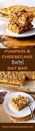 Pecan Pumpkin Bars Paula Deen by Pumpkin U0026 Cheesecake Swirl Oat Bars Lemon Blossoms