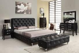 Manly Mirror Bedroom Set Furniture 4 Pc Homelegance Alonza Beveled