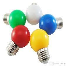 2018 small color wedding decoration bulb light led color