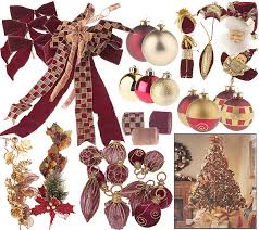 Qvc Christmas Tree Storage Bag by The Complete 100pc Christmas Tree Trim Kit W Ribbon Topper And