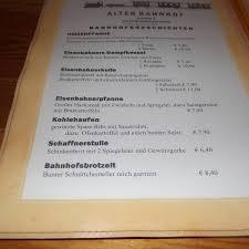 bilder und fotos zu eisenbahnerlokal alter bahnhof in