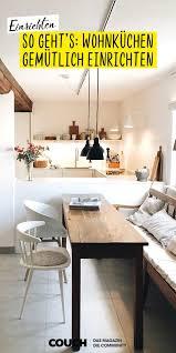 wohnküchen gemütlich einrichten so geht s wohnküche