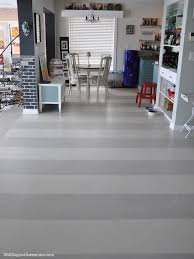 Varathane Floor Finish High Traffic Formula by Hand Painted Wide Stripe Floors 365 Days Of Awesome