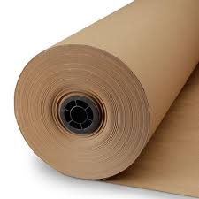Brown And Golden Plain Kraft Paper Roll Rs 35000 Metric Ton A K