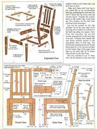 Free Solid Wood Dresser Plans by Chair Plans Woodworking How To Make Chairs Free Chair Plans With