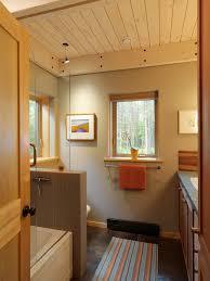styrofoam ceiling tiles bathroom contemporary with bathtub glass