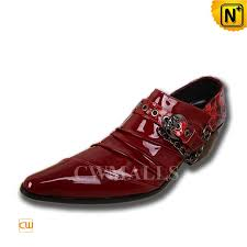 Red Dress Shoes Mens CW752217 Cwmalls