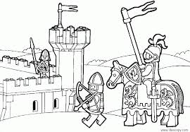 Lego City Coloring Page Popular Pages