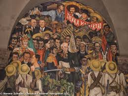 Diego Rivera Rockefeller Mural Analysis by Tour Oaxaca Cultural Navigator Norma Schafer