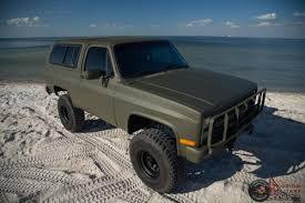1986 Chevrolet K5 CUCV Blazer Military M1009 M1008 M35A2 M35 Must See!