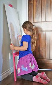 Step2 Art Easel Desk Instructions by Ana White Easy Leaning Kids Art Easel Diy Projects
