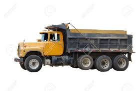 100 Dump Trucks Videos Yellow Truck Isolated On White Stock Photo Picture And Royalty