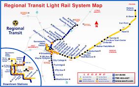 sacramento light rail map file sacramento rt light rail mappng