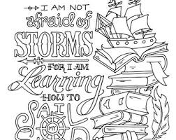 Little Women Coloring Page Louisa May Alcott Quotes Adult Kids Printable