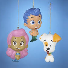 Bubble Guppies Bathroom Decor by Bubble Guppies Christmas Ornament Gil Molly Puppy Christmas